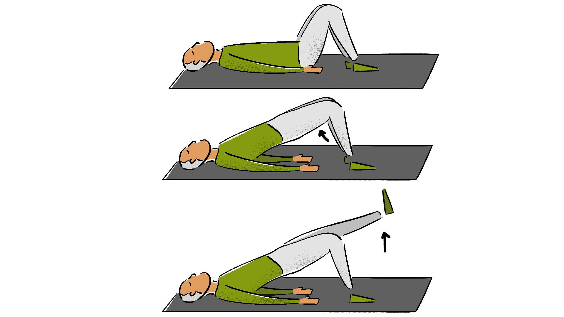 Oefeningen voor mensen met knie-, heup-en handartrose