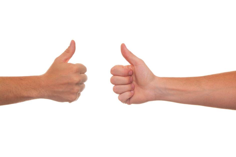 Behandeling van artrose van de duim met handtherapie